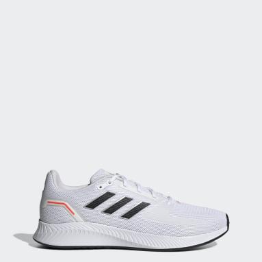 Men Running White Run Falcon 2.0 Shoes