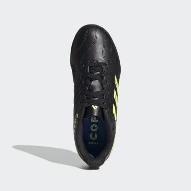 Girls Football Black Copa Sense.4 Turf Boots