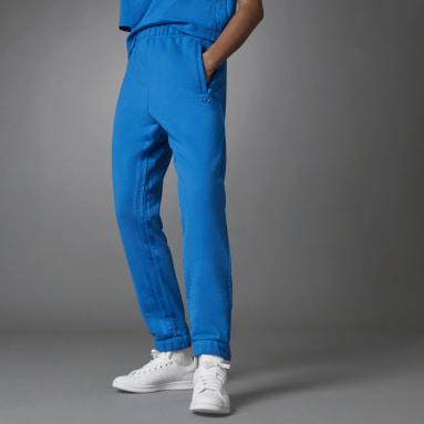 Pantalon de survêtement Fashion Essentials Side Slit Bleu Femmes Originals