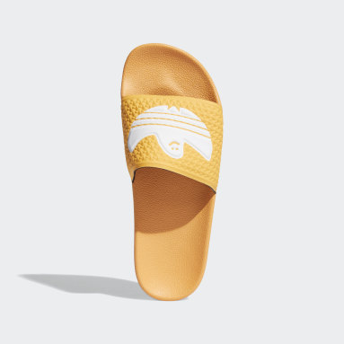 Men's Originals Orange Shmoofoil Slides