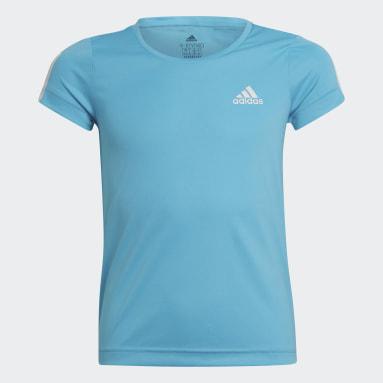 Camiseta Equipment Turquesa Niña Gimnasio Y Entrenamiento