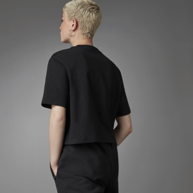 Dames Originals Zwart Blue Version Essentials T-shirt
