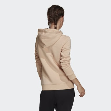 Hoodie LOUNGEWEAR Essentials Logo Fleece Rosa Donna Sportswear