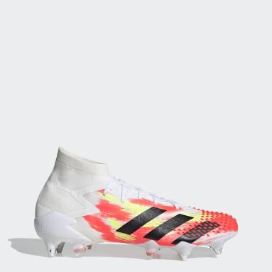 Football White Predator Mutator 20.1 Soft Ground Boots