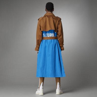 синий Тренч Blue Version