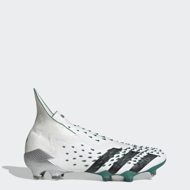 Botas de Futebol Predator Freak+ EQT – Piso firme Branco Futebol