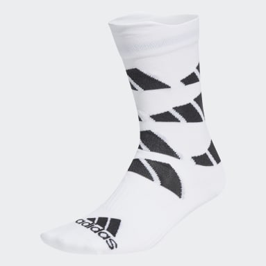 TERREX Ultralight Allover Graphic Performance Crew Socken Weiß