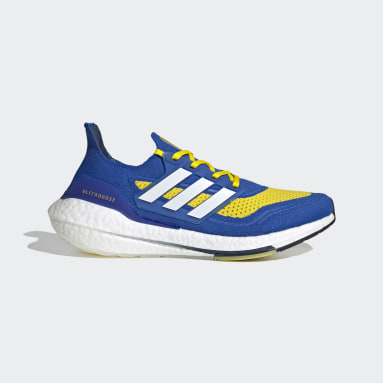 Chaussure Ultraboost 21 Bleu Course