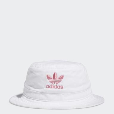 Originals White Washed Bucket Hat