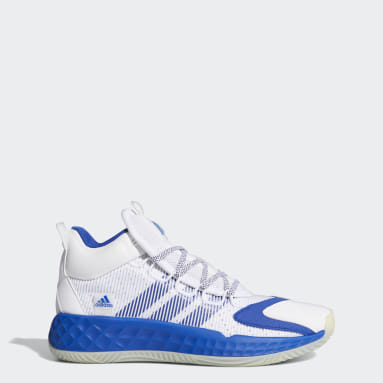 Basketball White Pro Boost Mid Shoes