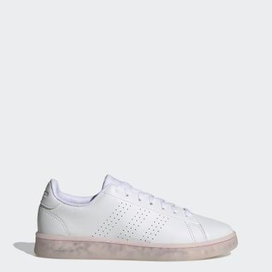 Women Sport Inspired White Advantage Eco Shoes