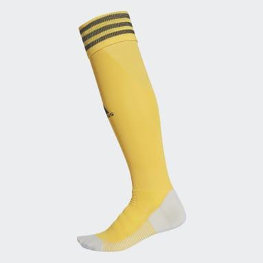 Fußball AdiSocks Kniestrümpfe Gold