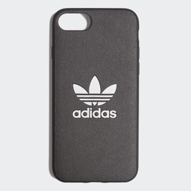 Etui na iPhone 8 Basic Logo Czerń