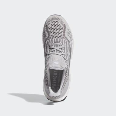 Women Running Grey Ultraboost 5.0 Uncaged DNA Shoes