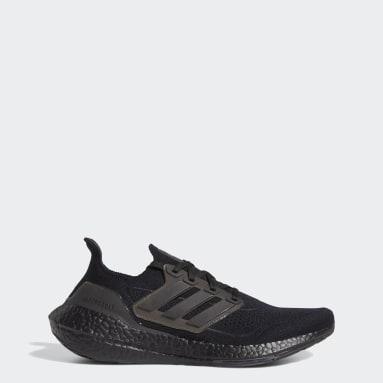 Erkek Koşu Siyah Ultraboost 21 Ayakkabı