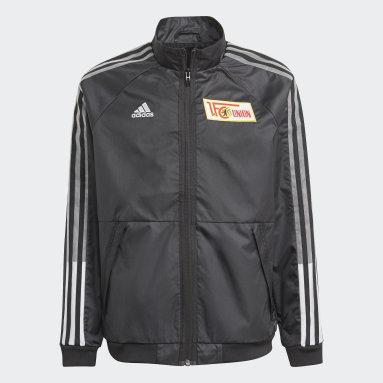 Kids Football Black 1. FC Union Berlin Anthem Jacket
