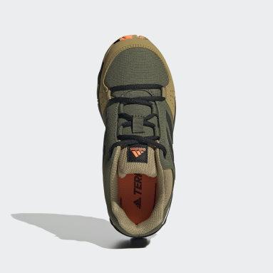 Zapatillas de Senderismo Terrex Hyperhiker Caña Baja Verde Niño TERREX