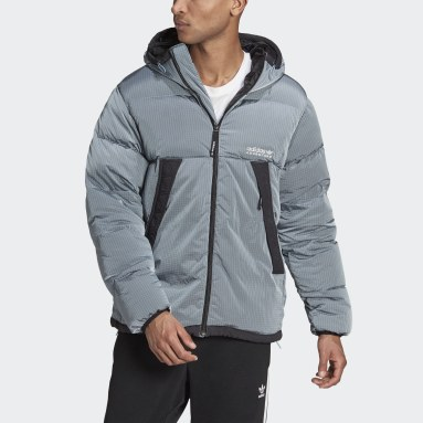 Men Originals Blue adidas Adventure Down Puffer Jacket