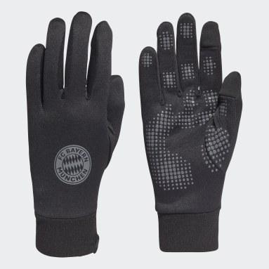 Football Black FC Bayern Field Player AEROREADY Gloves