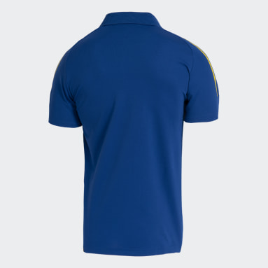 Camisa Polo Cruzeiro Azul Homem Futebol
