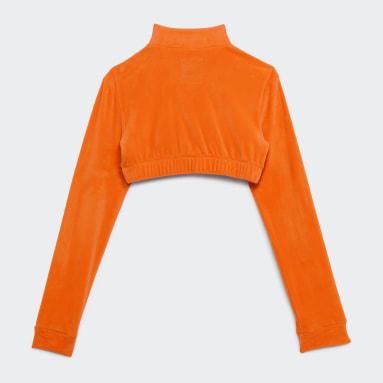 Women Originals Orange Jeremy Scott Track Top