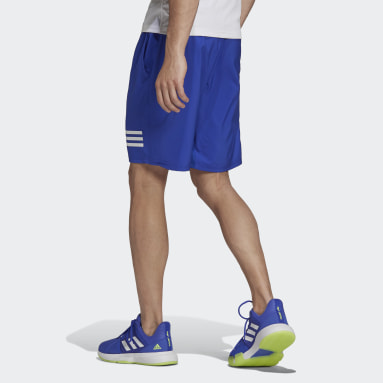Shorts de Tenis Club 3 Rayas Azul Hombre Tennis