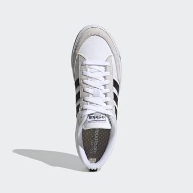Men Sport Inspired White Retrovulc Shoes
