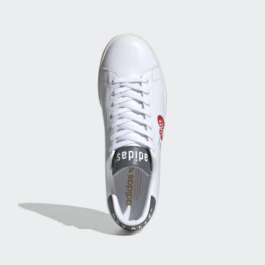 Men Originals White Stan Smith Human Made Shoes