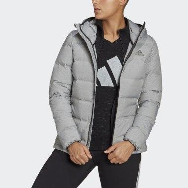 Women City Outdoor Grey Helionic Down Jacket