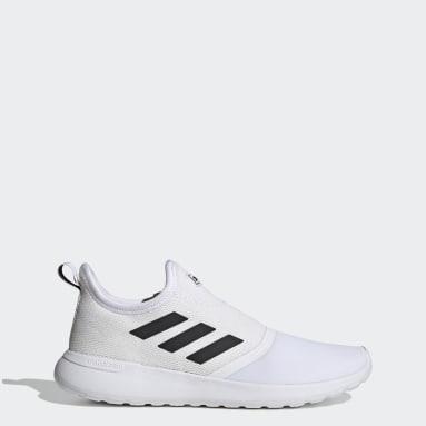 Men Sport Inspired White Lite Racer Slip-On Shoes