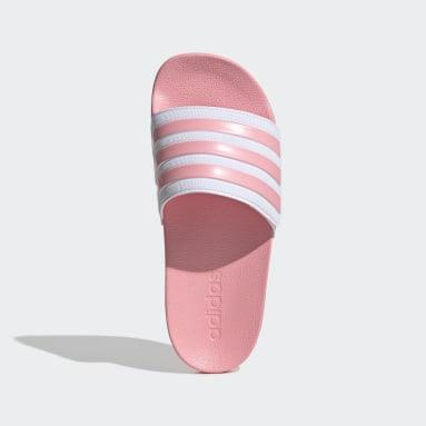 Děti Plavání růžová Pantofle Adilette Shower