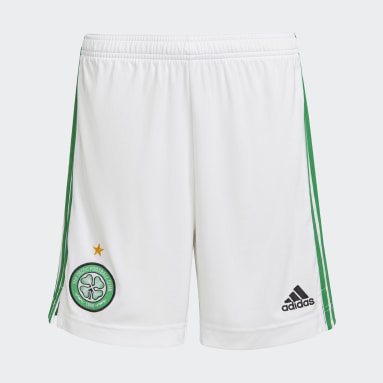 Short Domicile Celtic FC 21/22 Blanc Enfants Football