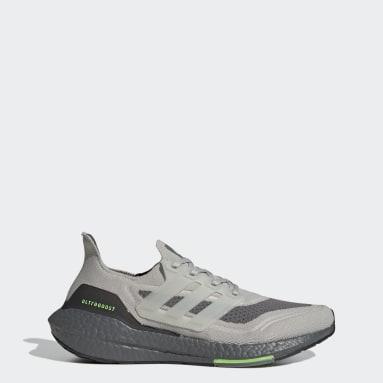 Men's Running Grey Ultraboost 21 Shoes
