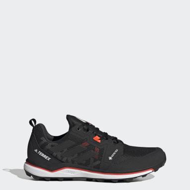 Men's TERREX Black Terrex Agravic GORE-TEX Trail Running Shoes