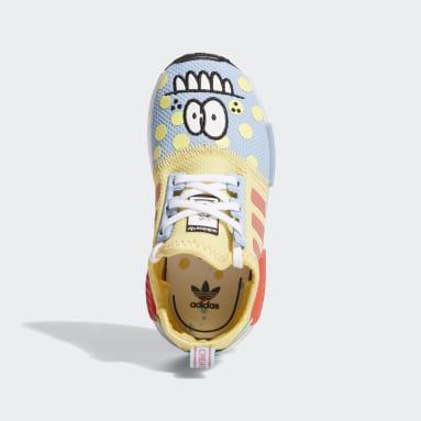 Infant & Toddler Originals Beige Kevin Lyons NMD_R1 Refined Shoes