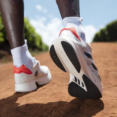 Scarpe adizero adios Pro 2.0 Bianco Running