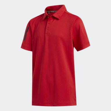 3-Stripes Poloskjorte Rød