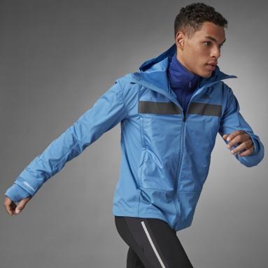 Men Running Blue COLD.RDY Running Jacket