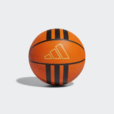 Ballon de basketball 3-Stripes Rubber X2 Orange Basketball