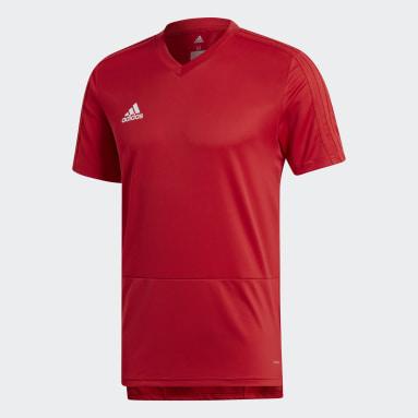 Camiseta entrenamiento Condivo 18 Rojo Hombre Gimnasio Y Entrenamiento