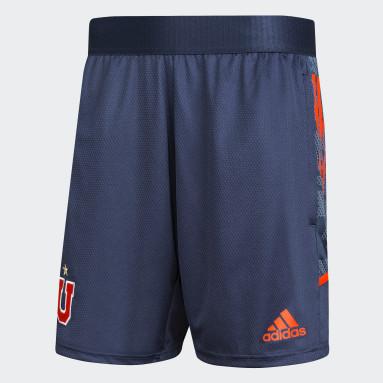 Shorts de Entrenamiento Club Universidad de Chile Azul Hombre Fútbol