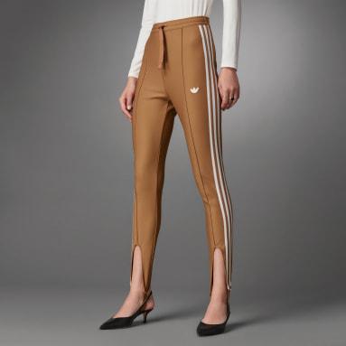 Track pants Blue Version Slim Beckenbauer Marrone Donna Originals