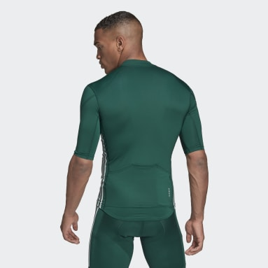 Maillot The Short Sleeve Cycling Vert Hommes Cyclisme
