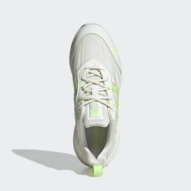 Men Originals White ZX 2K Boost 2.0 Shoes