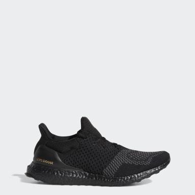 Men Running Black Ultraboost 1 DNA Shoes