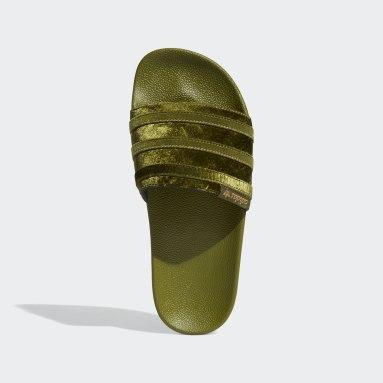 Women's Originals Green Adilette Slides