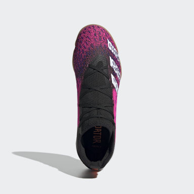 Futsal Black Predator Freak.3 Indoor Boots
