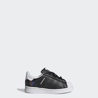 Børn Originals Sort Superstar sko