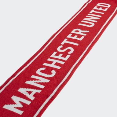 Manchester United Skjerf Rød