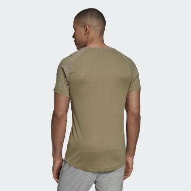 Playera AEROREADY Designed To Move Sport Motion Logo Verde Hombre Training